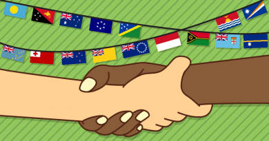 papua and the pacific islands