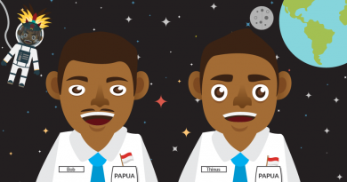 papuan students in NASA