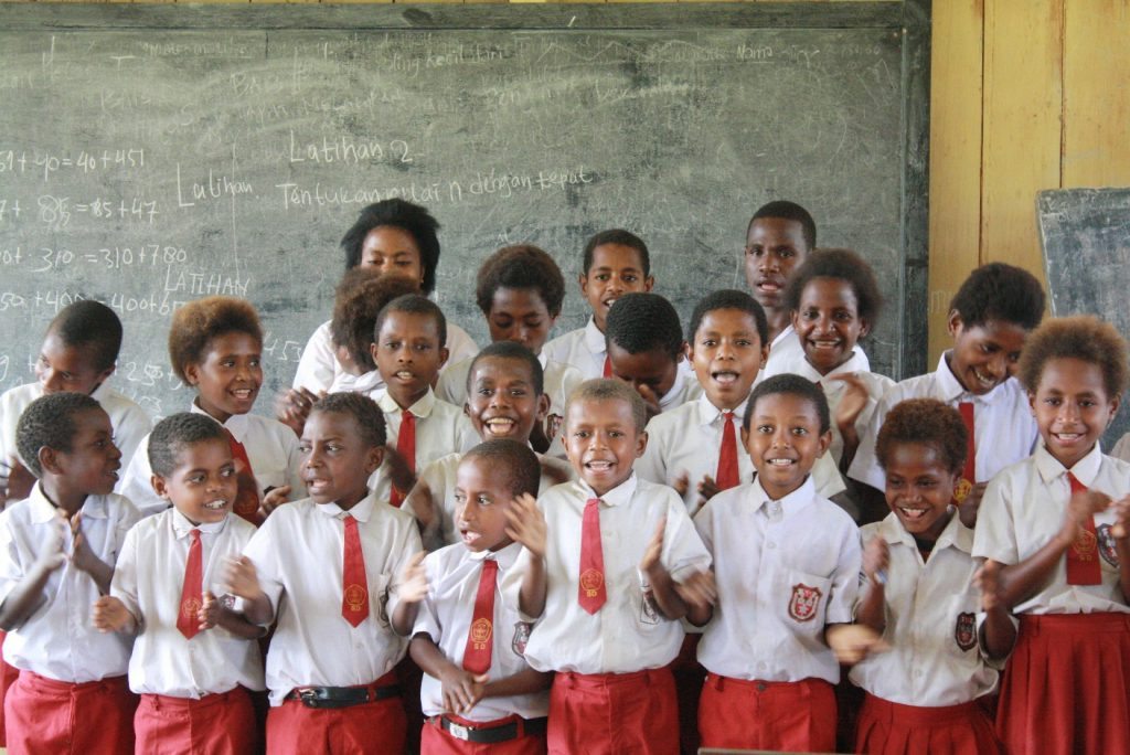 Papuan teachers