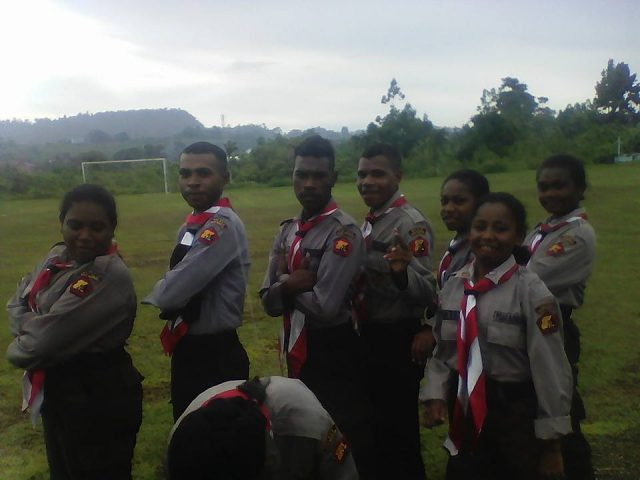 Youth Pledge Celebration in Papua