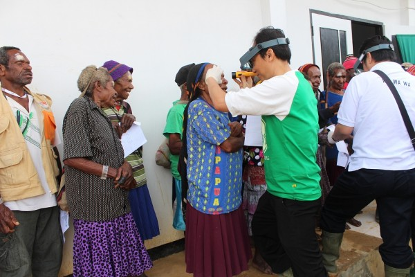 free cataract surgery in Mimika-Papua