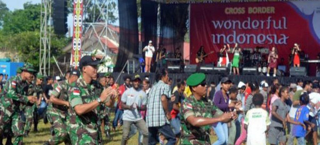 Cross-Border Wonderful Indonesia Festival in West Papua
