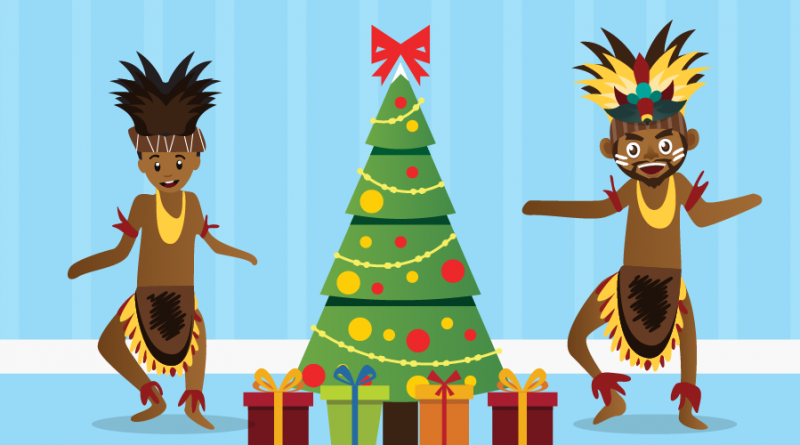 Christmas Celebration in Papua