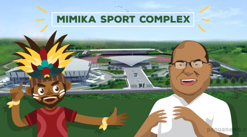Mimika Sport Complex is Ready for PON XX/2020 in Papua