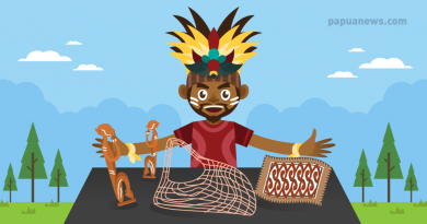 indigenous handcraft from Papua