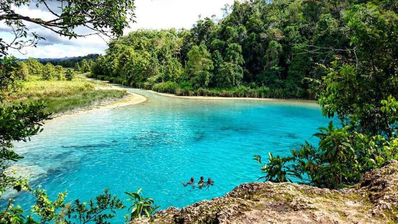 Lakes in Maybrat Region, West Papua, that Mesmerized