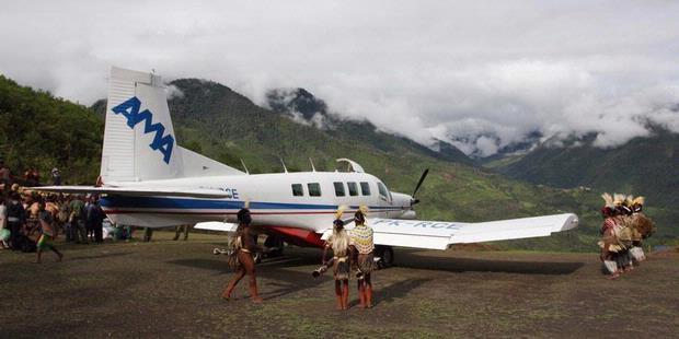 aircraft accident in papua