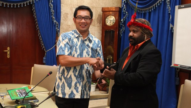 Offers of Ridwan Kamil to Papua