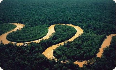 The Mamberamo River, an Amazon River in Papua