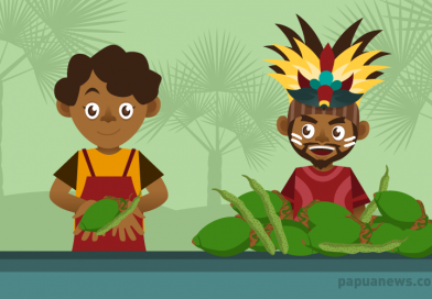 Women Street Vendors in Papua Who Sell Areca Nut and Betel Rod Receive Business Aid