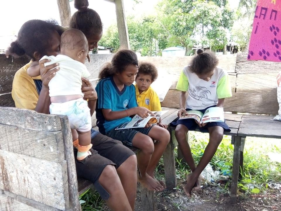 Noken Pustaka, The Moving Library in Papua