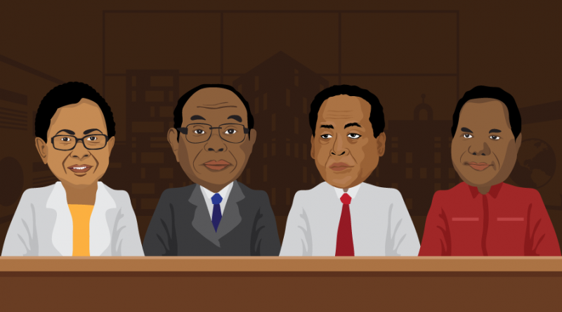 Ministers from Papua