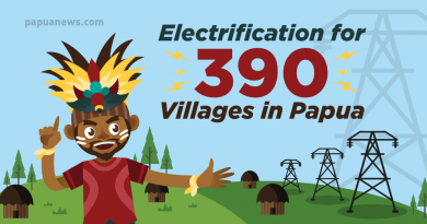 electrification in Papua