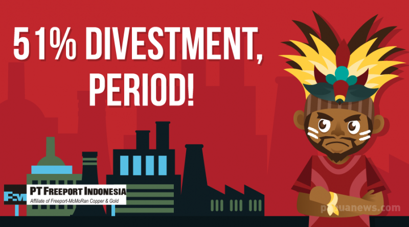 No Bargain for 51% Divestment of Freeport Indonesia